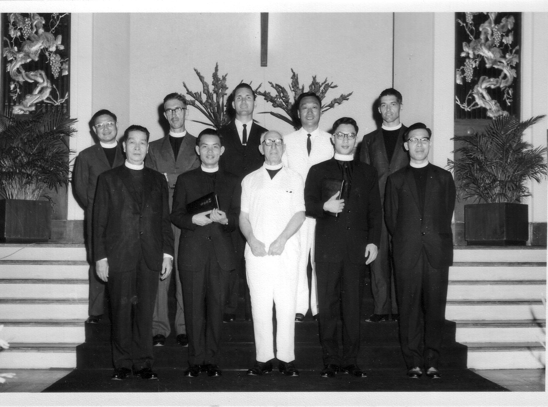 PJ.4 Clerical gathering at Kowloon Methodist Church, Hong Kong
