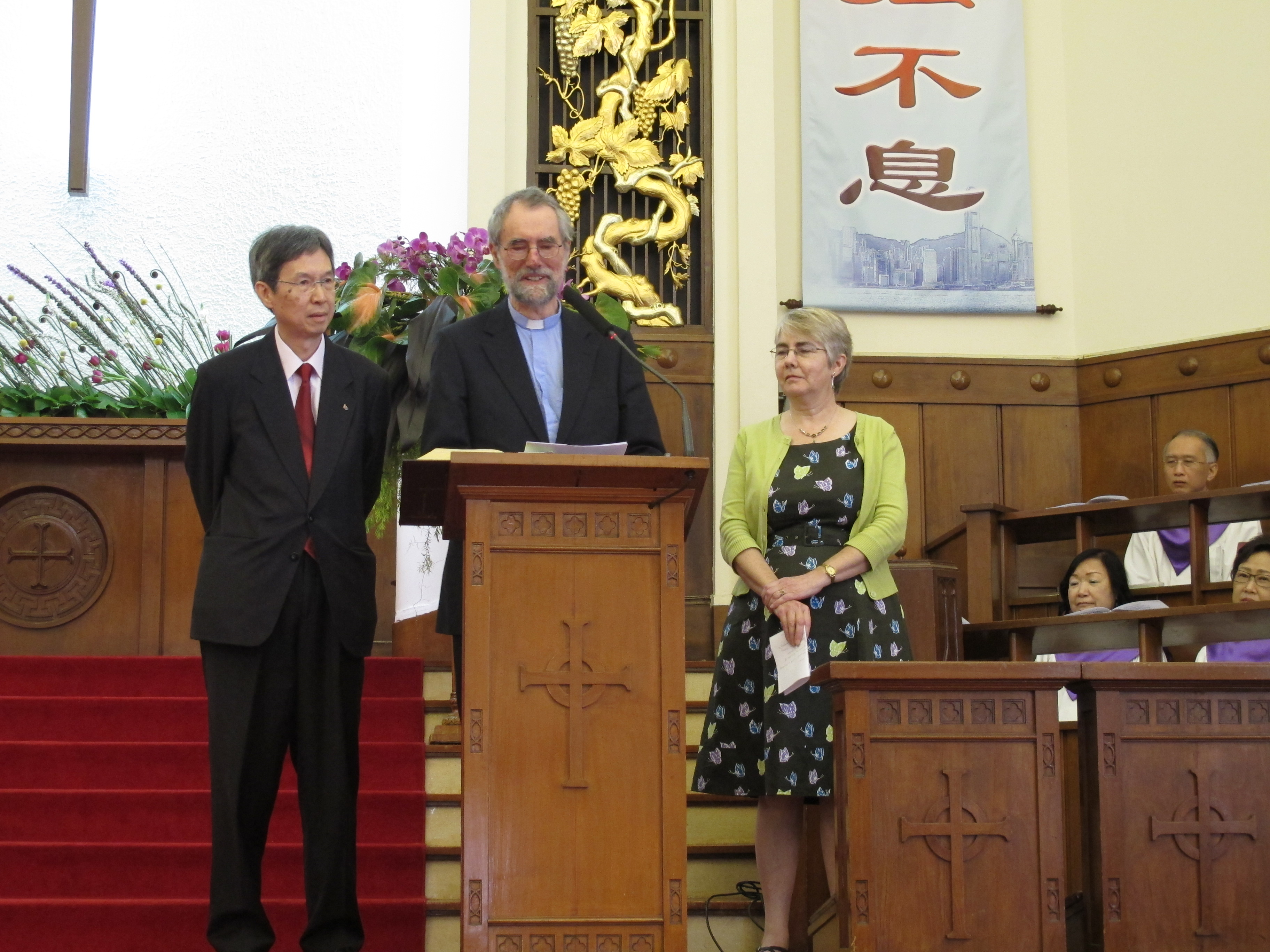 HC.10 addressing congregation Kowloon MC 22mar15