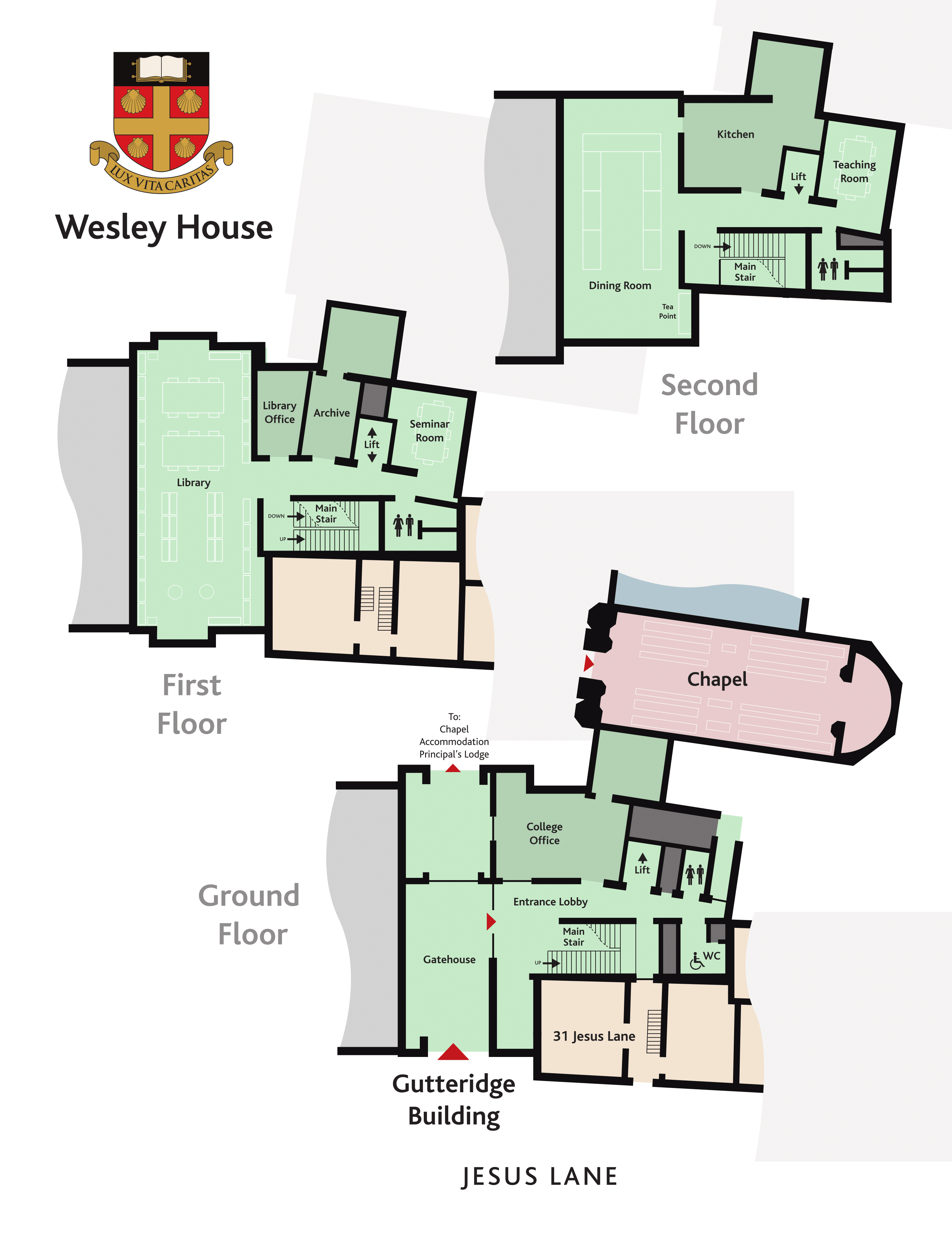 Site Plan Wesley House