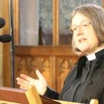 Jane Leach preaching